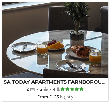 Picture of SA Today Apartments Farnborough (Fibre Wi-Fi & Netflix).